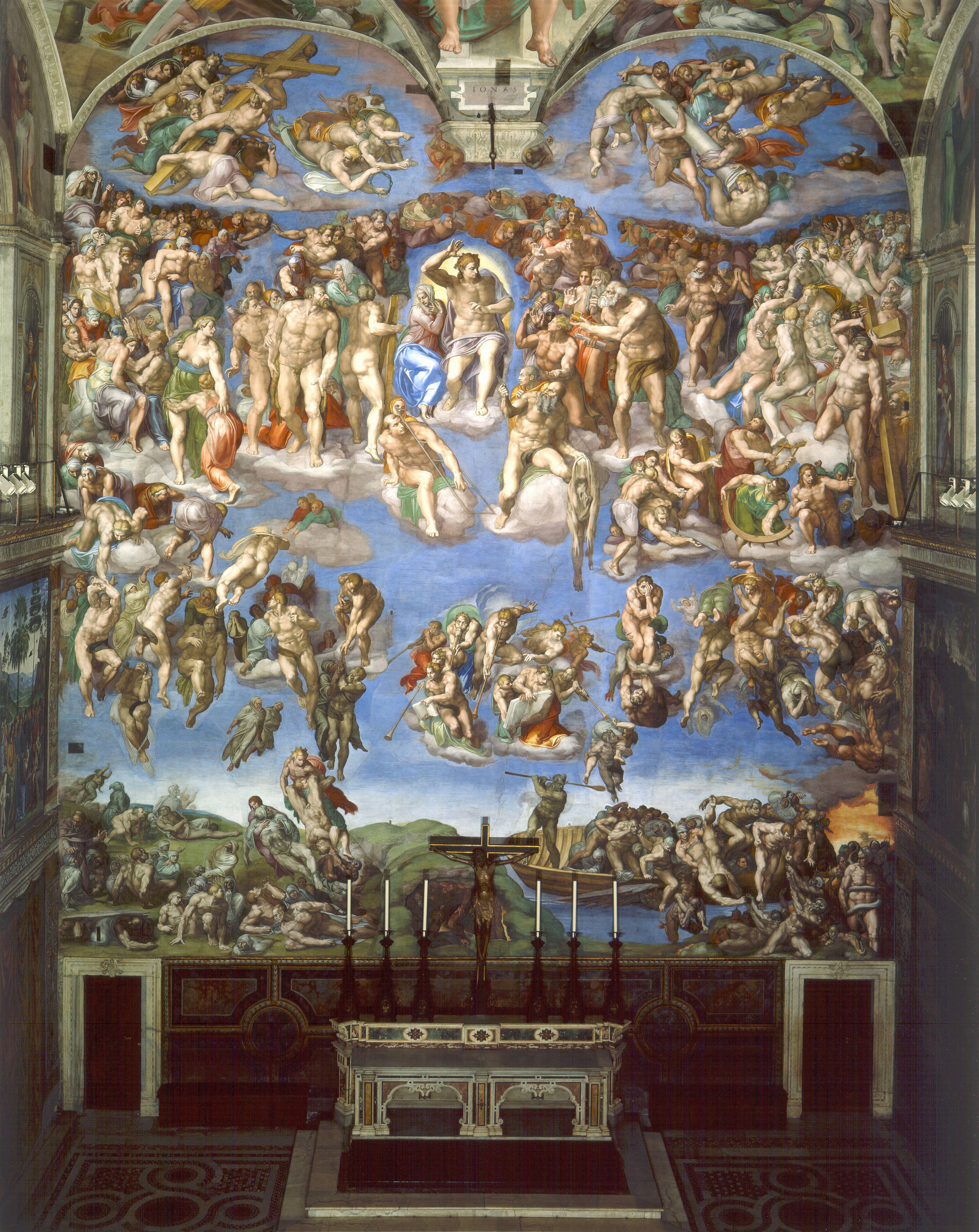 Michelangelo dommedag