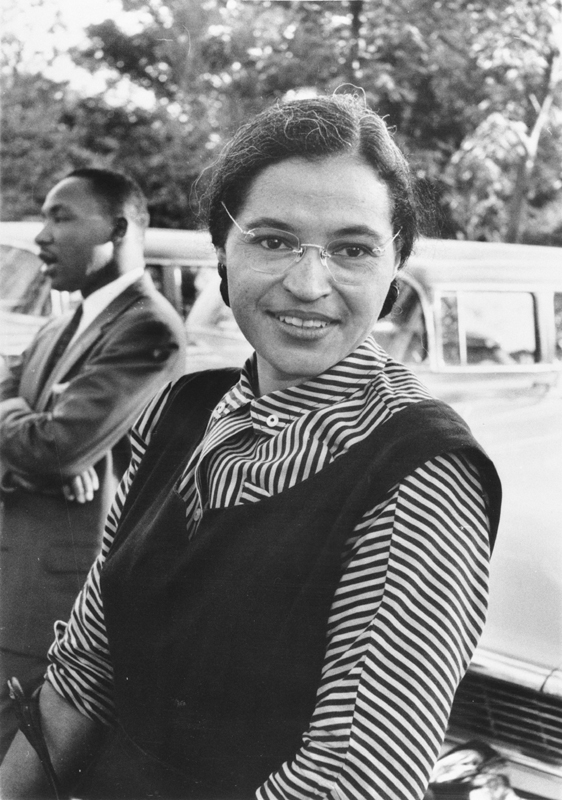 Rosa Parks Refuses To Move – 55th Anniversary « Big Brother & The New World