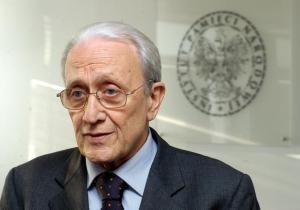 Ferdinando Imposimato, honorary president of the Italian Supreme court (Cotre di Cassazione).