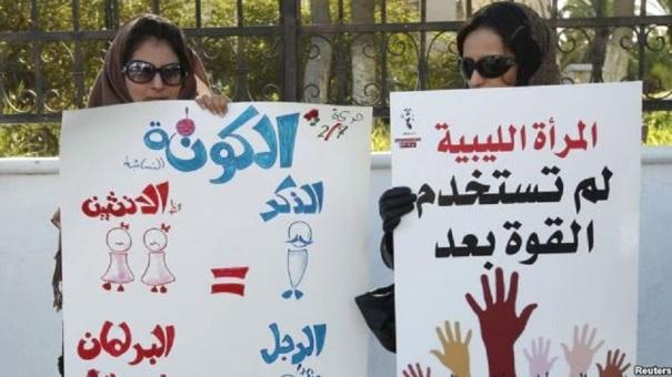 Two Women = One Man Libya