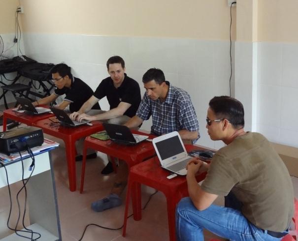 Bloggers in Vietnam