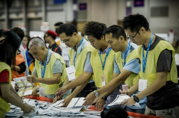 China Ballot Officers